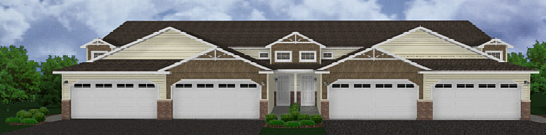 Hugo Townhomes Rendering Front