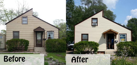 Foster Home Before and After