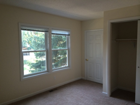 A bedroom in the new home