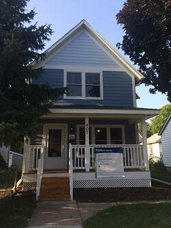 The Dhamuke/Ali Family's New Home