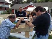 Building Habitat chairs