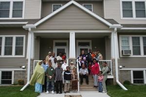 Habitat homeowners