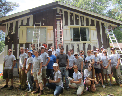 AmeriCorps members - 2013 ABWK Project