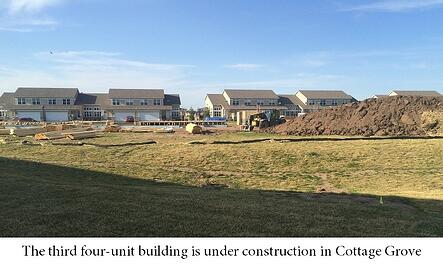 Construction started on new building