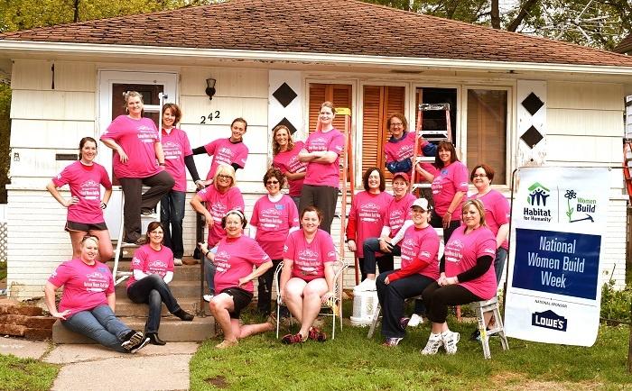 National_Women_Build_Week_Volunteers