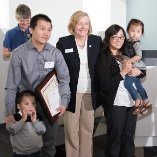 Ia, Nath, Sue and Family