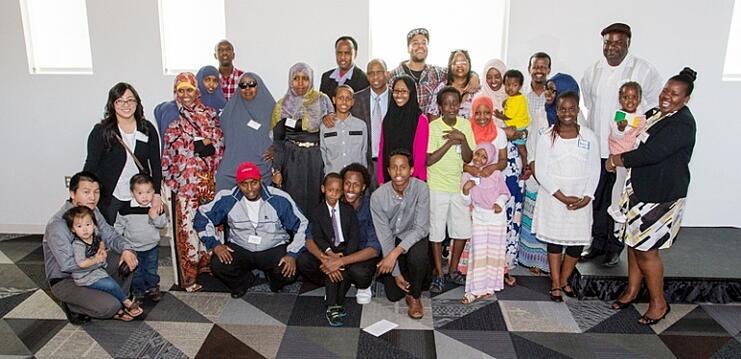 All Families at May 19 Dedication