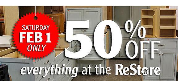 ReStore 50% off