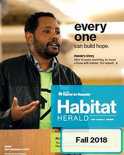 click to read our fall 2018 Habitat Herald