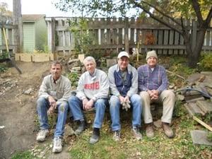 Four members of the AReg volunteer crew.