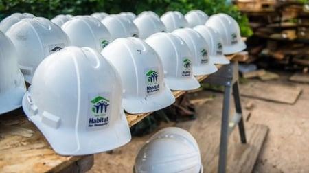 Twin Cities Habitat hard hats