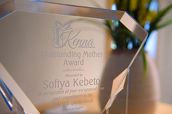 Sofiyas award for outstanding parenting