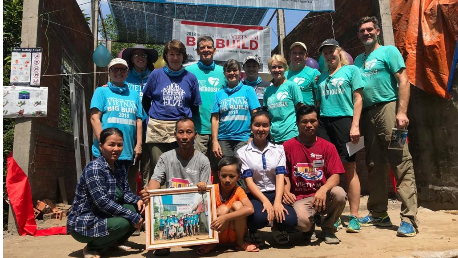 Vietnam Global Village Build 2018 Group Photo
