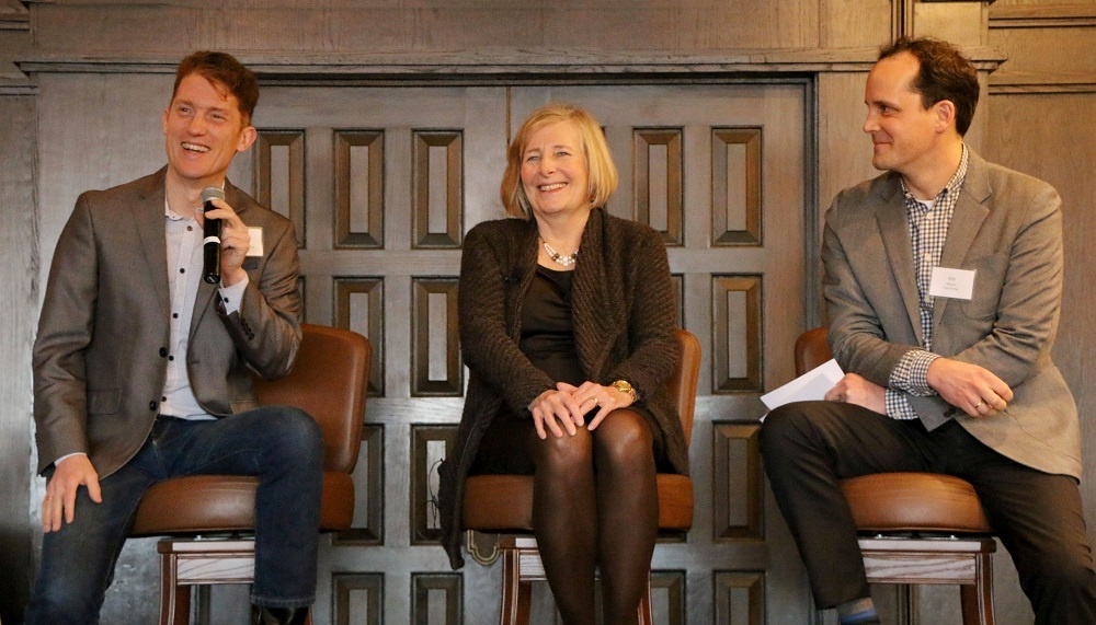 Jacob Corvidae, Sue Haigh, and Will Nissen