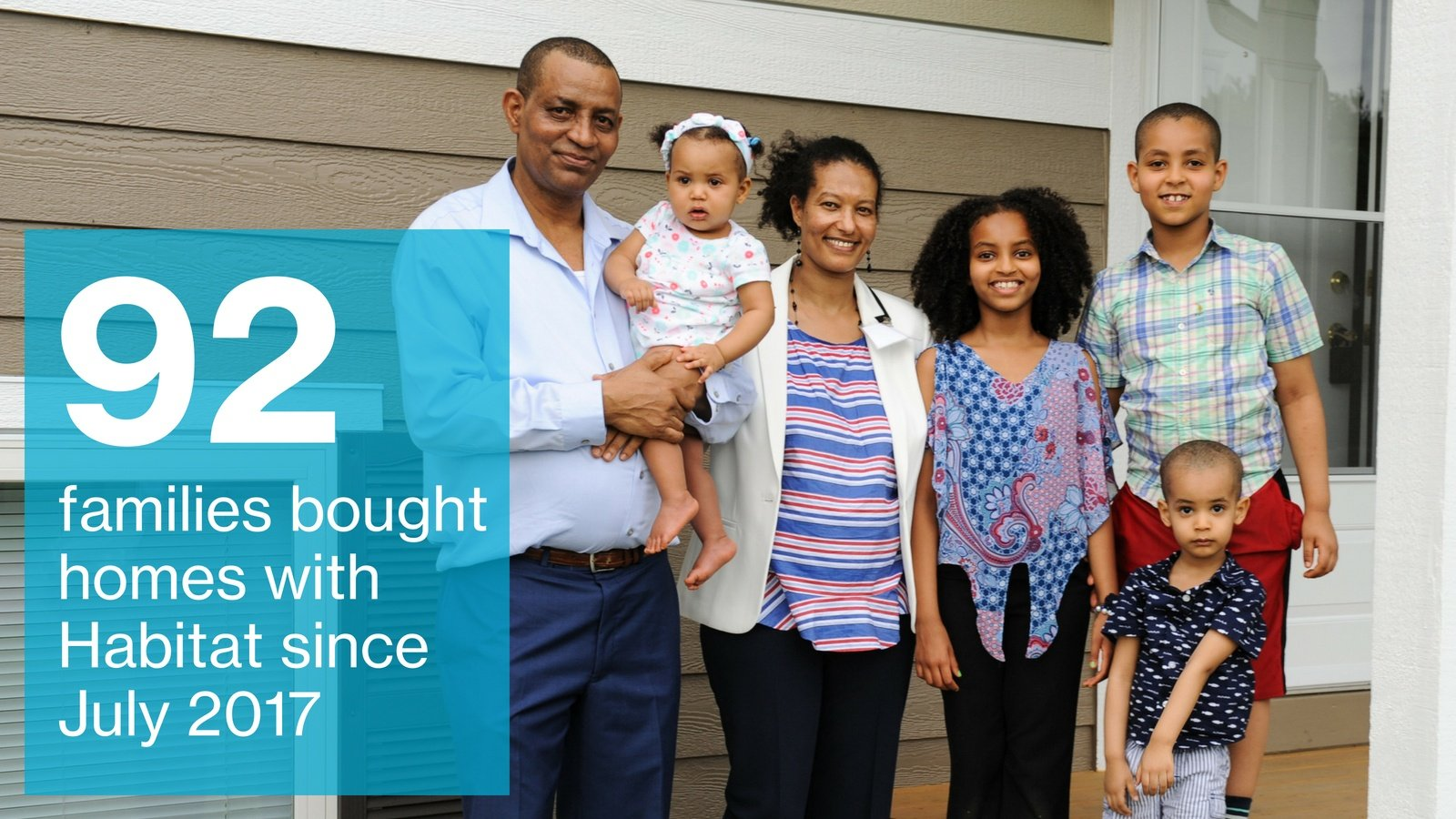 92 families achieved homeownership this year