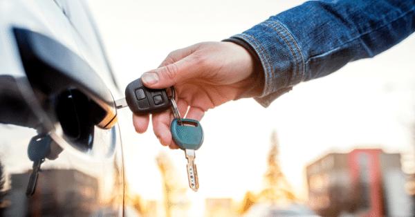 cars for homes key unlocking a car door