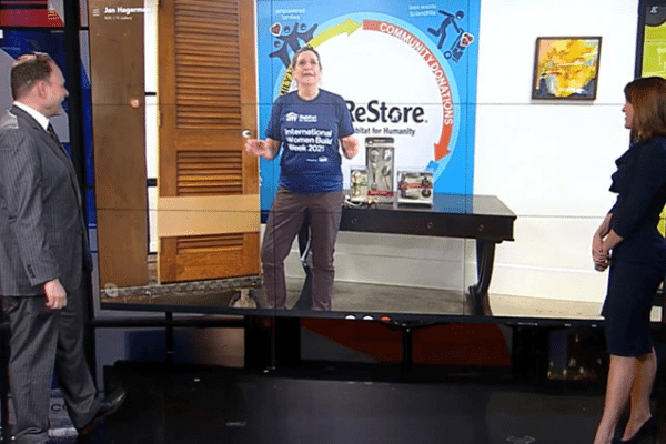 ReStore Manager speaks with WCCO on DIY tips with doors