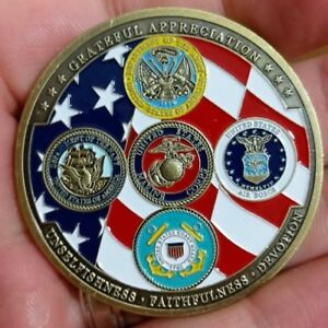Example of a challenge coin for reference