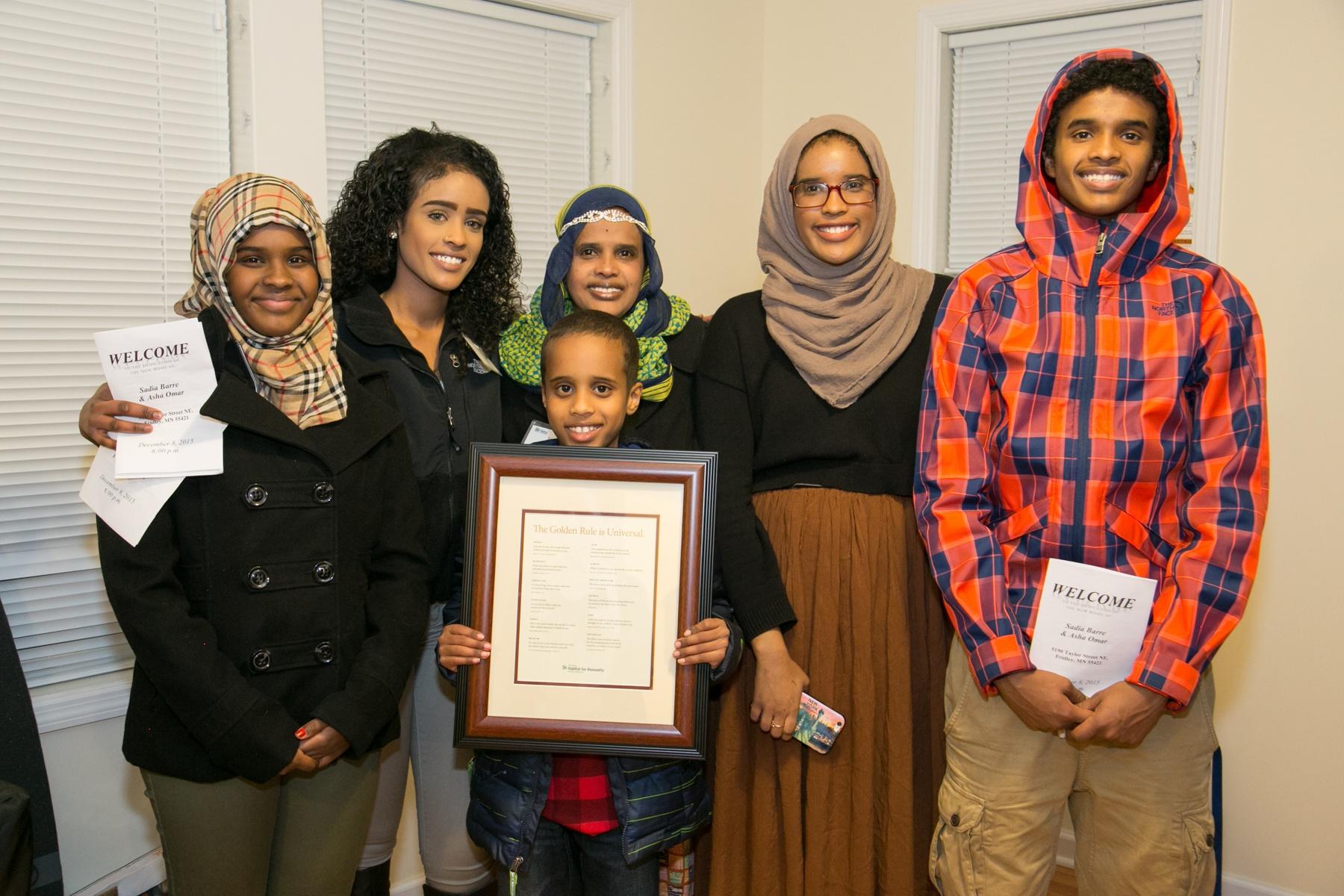Sadia & Asha's family