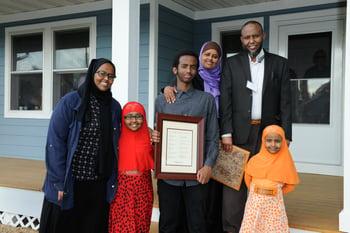 Framed_family_photo_Jamila_and_Abduallahi