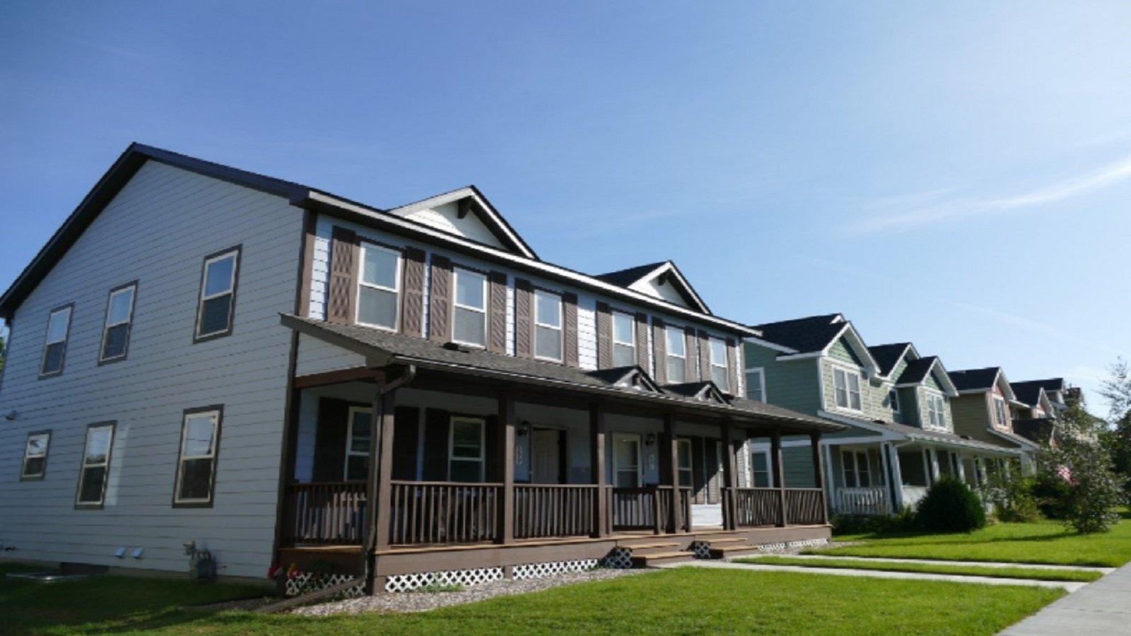 Habitat houses