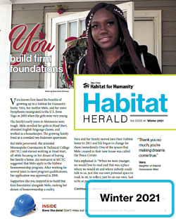 January 2021 Habitat Herald thumbnail