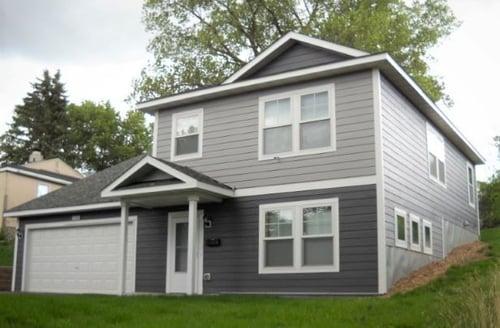 House photo - grey two tone Habitat home - smaller
