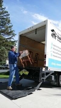 Donations truck