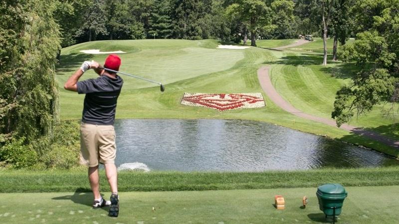 Raise the Roof Golf Tournament golfer