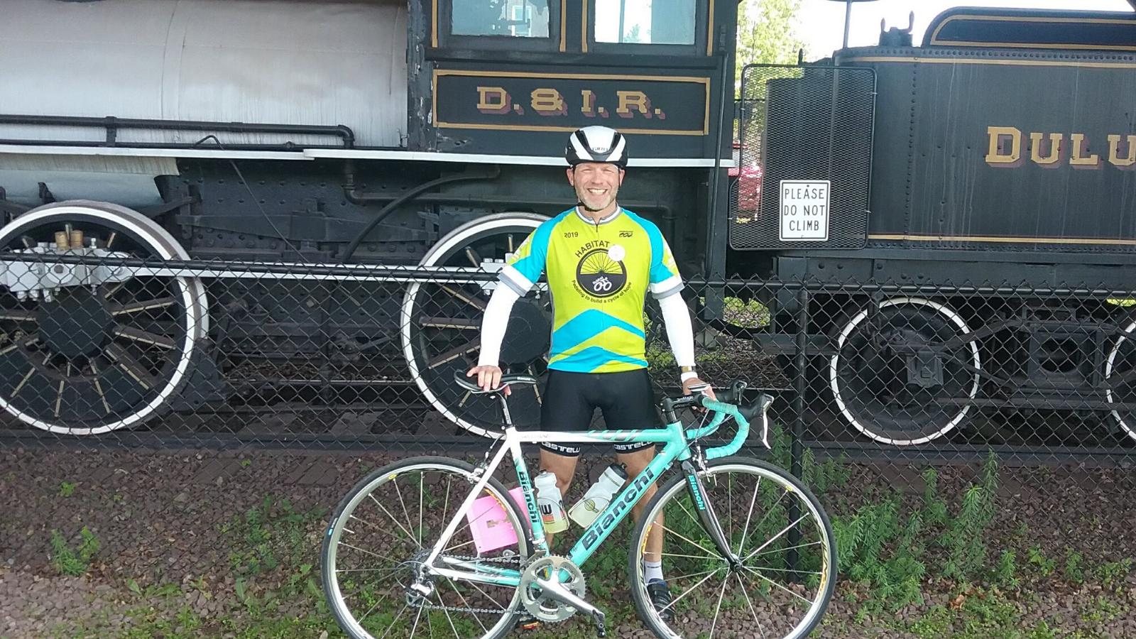 Mike and bike