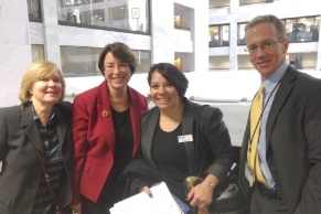 Hab_on_the_Hill_2016_at_the_Capitol_with_Klobuchar