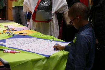 Signing for Advocacy
