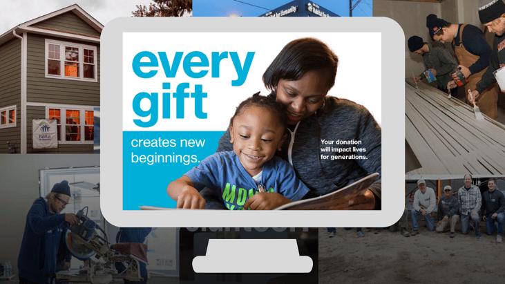 Every Gift creates new beginnings