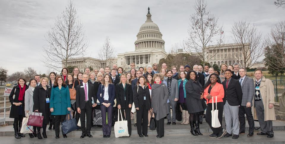 Almost 300 Habitat staffers from across the U.S. attended Hab on the Hill.