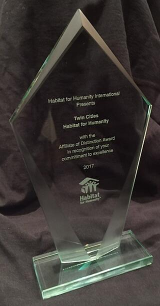 Affiliate of Distinction Award