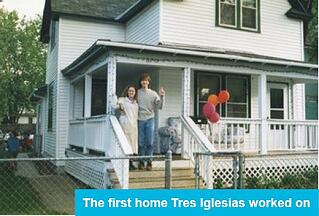The first home Tres Iglesias worked on
