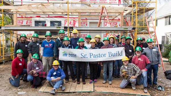 Senior Pastor Build Group Photo