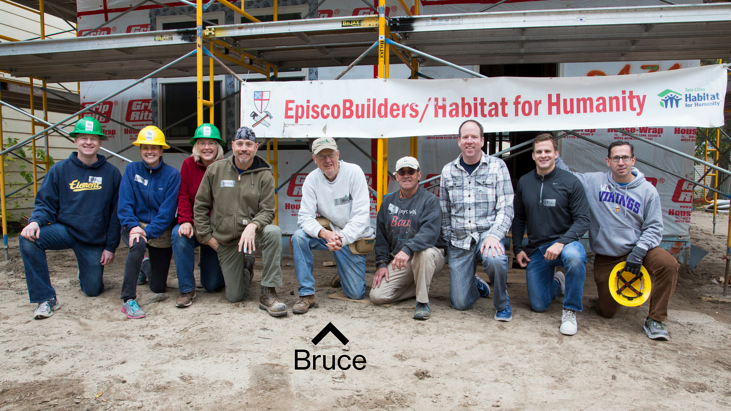 Bruce Mouton and the EpiscoBuilders volunteer group
