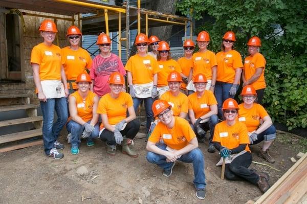 The Women Build Crew from Andersen