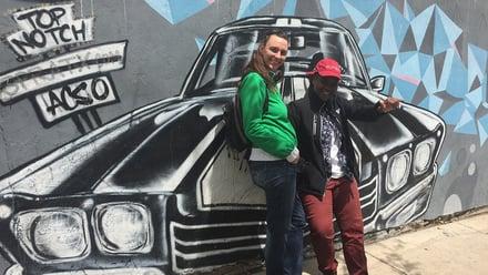 AmeriCorps members exploring Austin