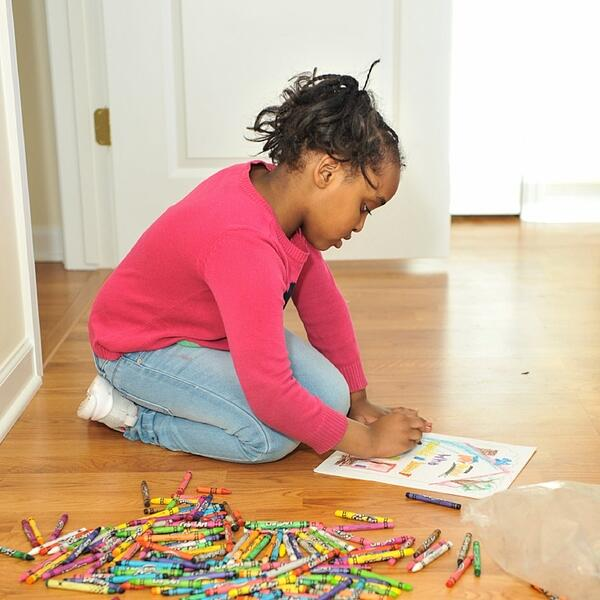 Adanech's daughter coloring