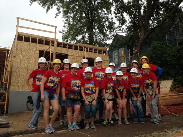 Dawn Puroway's Women Build team