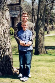 Blake and dad