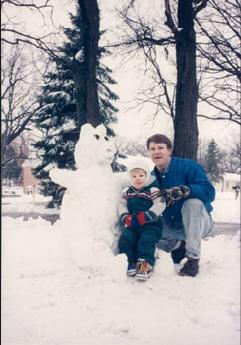 Building a snow bear