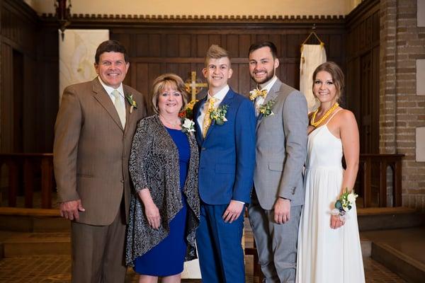 Blake's family