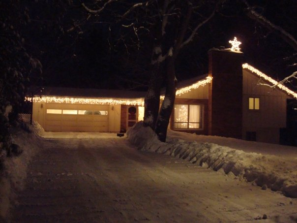 MacKenzie home at Christmas