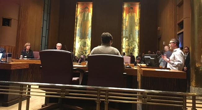 Mike Robertson testifying