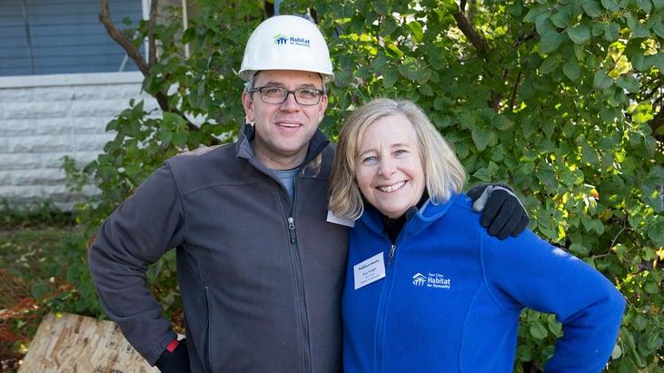 Steve Ryan and Sue Haigh at CEO Build 2017