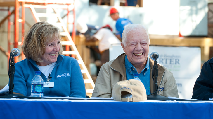 Sue and Jimmy Carter