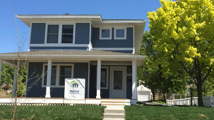 knox avenue Habitat home